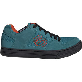 Five Ten Freerider - Chaussures Homme - orange/Bleu pétrole